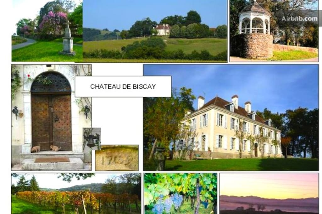 Chateau de Biscay & Park & the views!!!