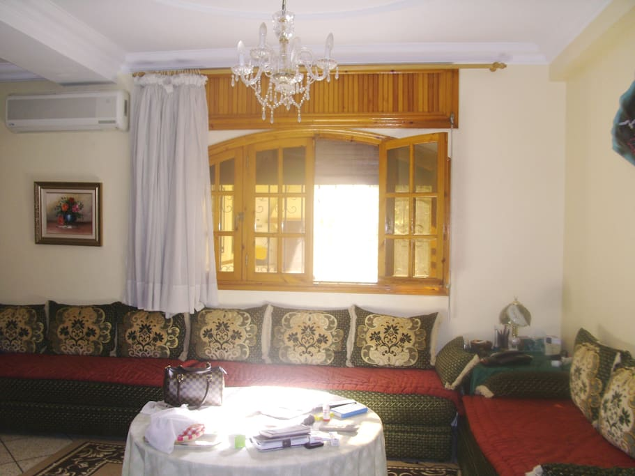 Another view of the first air-conditioned Lounge