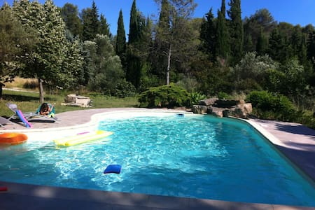 Très agréable villa avec piscine - Prades-le-Lez