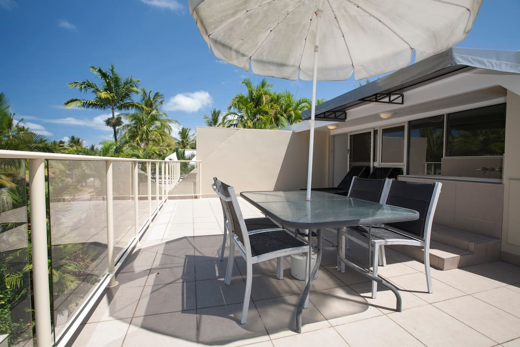 Driftwood Mantaray Apartment 16 - Private Rooftop Terrace