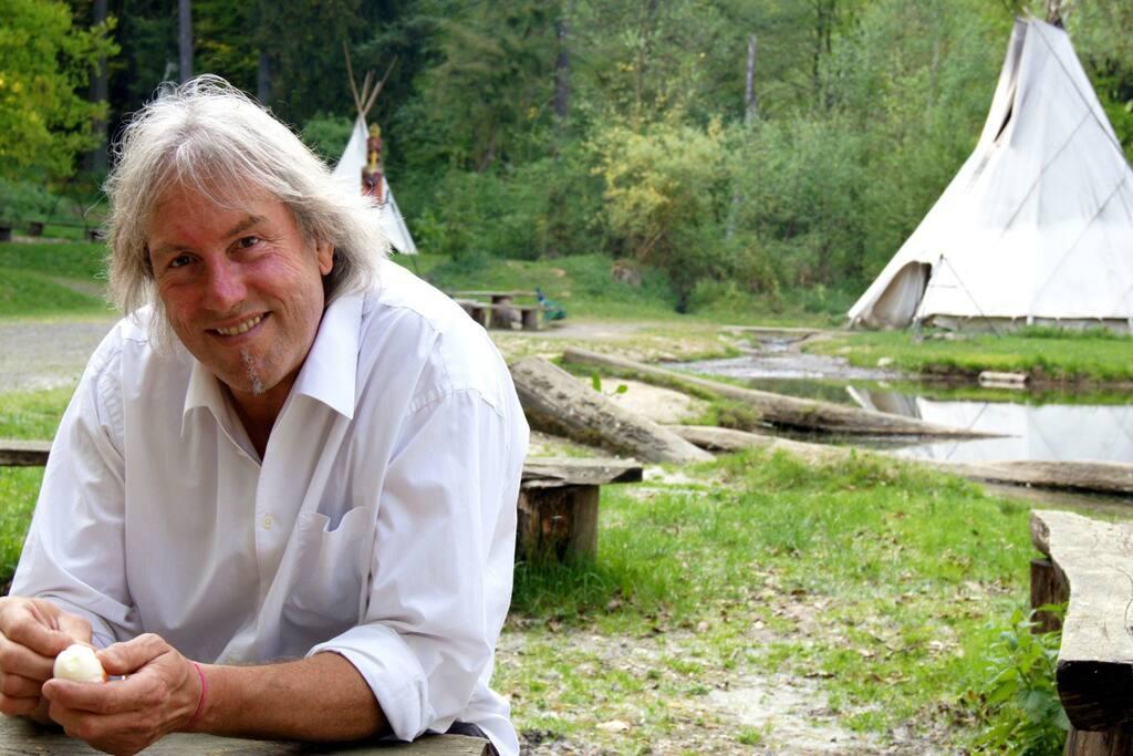 Manni Köhnlein - creator, major, chief, manager, boss ... we love him!