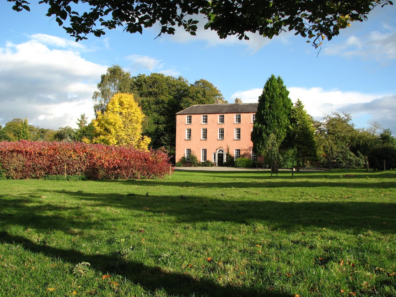 Join us for a heart warming break in our historic family home Dollardstown House.