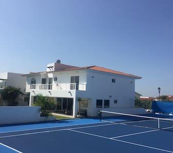 cancha de tenis profesional - Oaxtepec - Dom