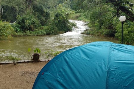 Camping in Munnar at Ela Ecoland Nature Retreat - Sátor