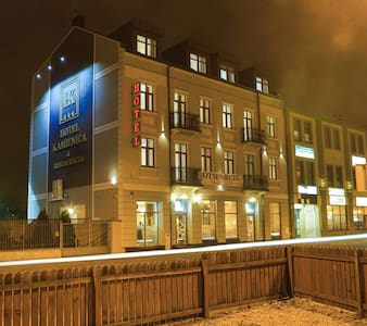 Butikowy hotel w centrum Siedlec - Aamiaismajoitus