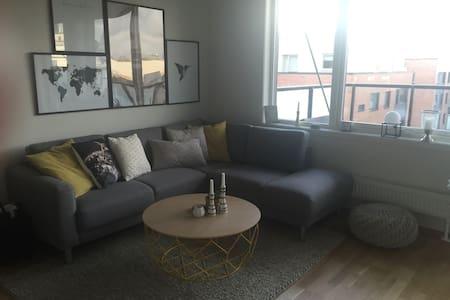 Ny 2-roms med stor solrik balkong - Oslo - Apartmen