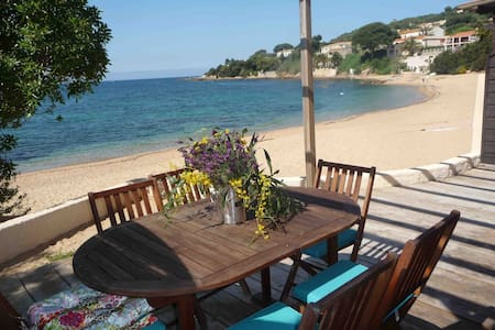 Lovely apartment on the beach - Daire