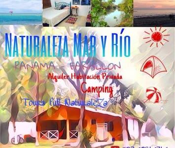 Naturaleza Mar y Rio Camping Lodge - Coclé - Tent