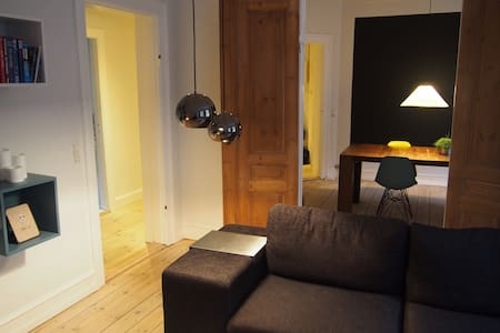 Central, spacious, nordic flat - Apartment
