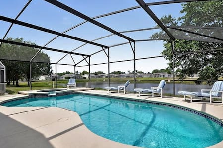 Open Water View/Close to Disney and Highways - Clermont - Maison