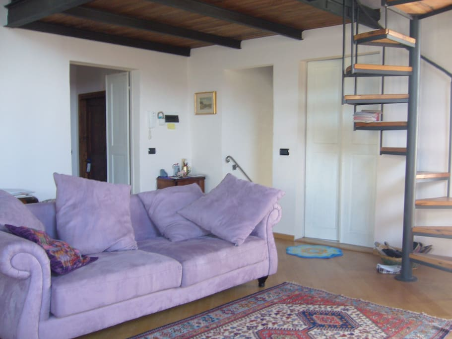 Soggiorno: sala relax e di accoglienza ospiti
