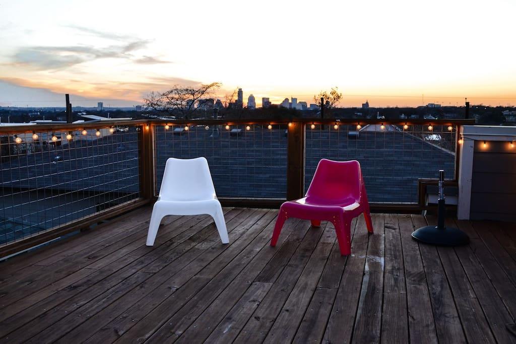 Roof Deck.