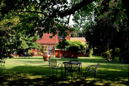 Guest House con cavalli e piscina - Province of Rome - Blockhütte