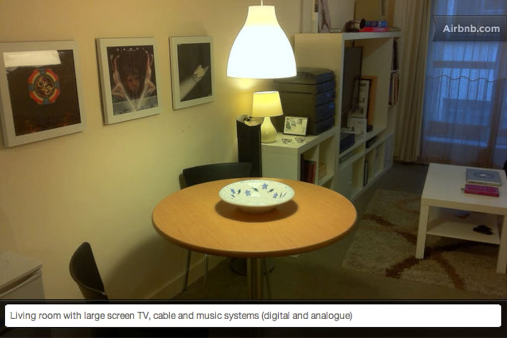Comfortable Double Bed with laptop and free internet access.