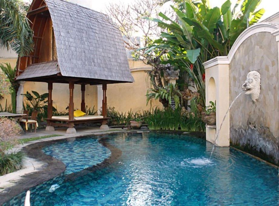 Private swiming pool