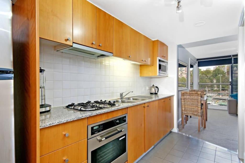 Full Kitchen facilites including dishwasher