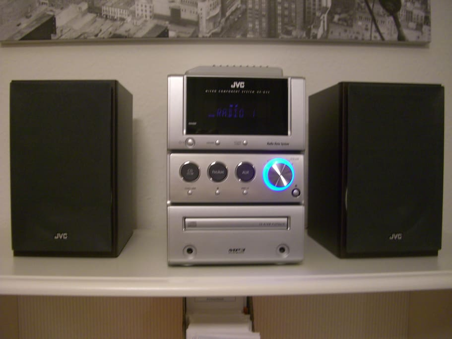 Radio with CD drive  With good speakers