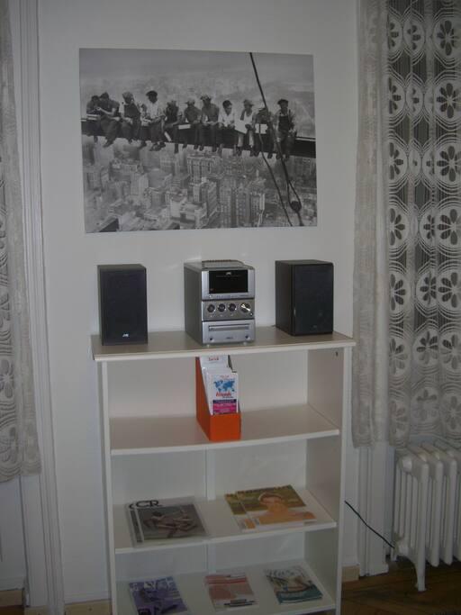 Radio with CD drive