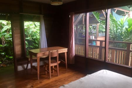 Spacious Cabin in the canopy, 100m to the beach - Puerto Viejo de Talamanca - Kulübe