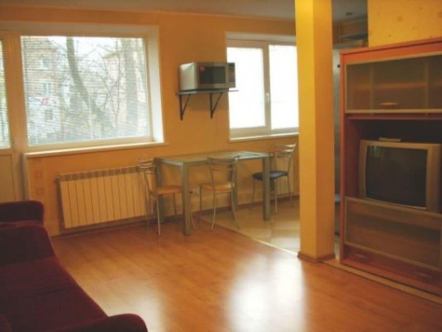 2 room apartment in Klaipeda centre