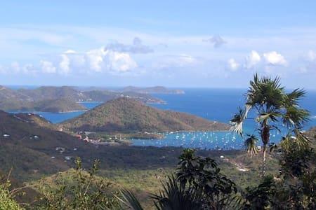 Calm Caribbean views on St John - Coral Bay