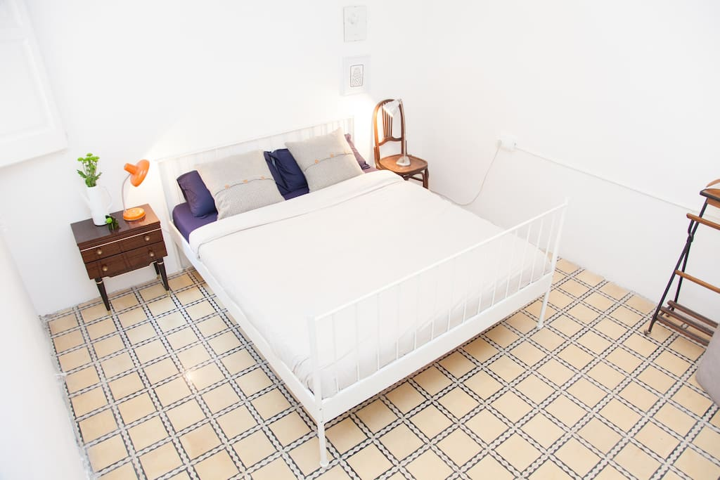 Your big bed in Barcelona!