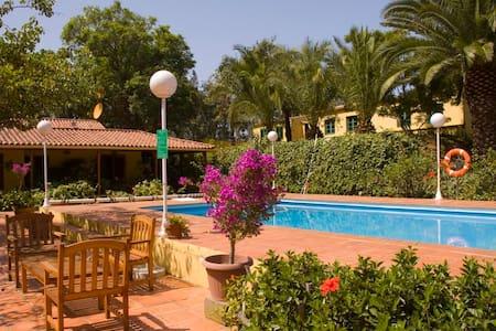 Ferienhaus mit pool (GC0020) - El Zumacal