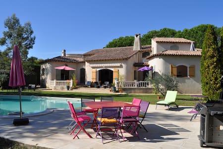 Belle villa provençale, toute équipée, piscine ... - Saint-Génies-de-Malgoirès