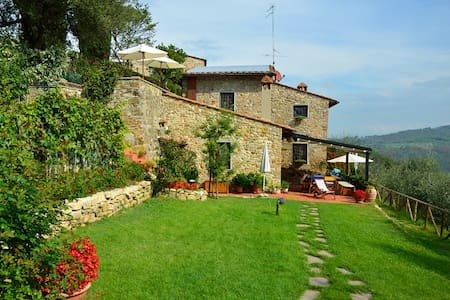 Delicious country-house in Chianti