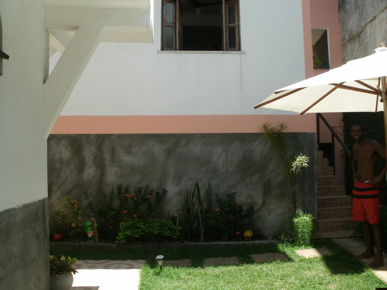 This is the outside view of the home.....