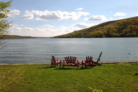 Lakefront Home Greenwood Lake - Talo