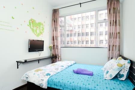 Tidy, quiet with windows, near Jordan MTR, room 6 - Jordan - Appartamento