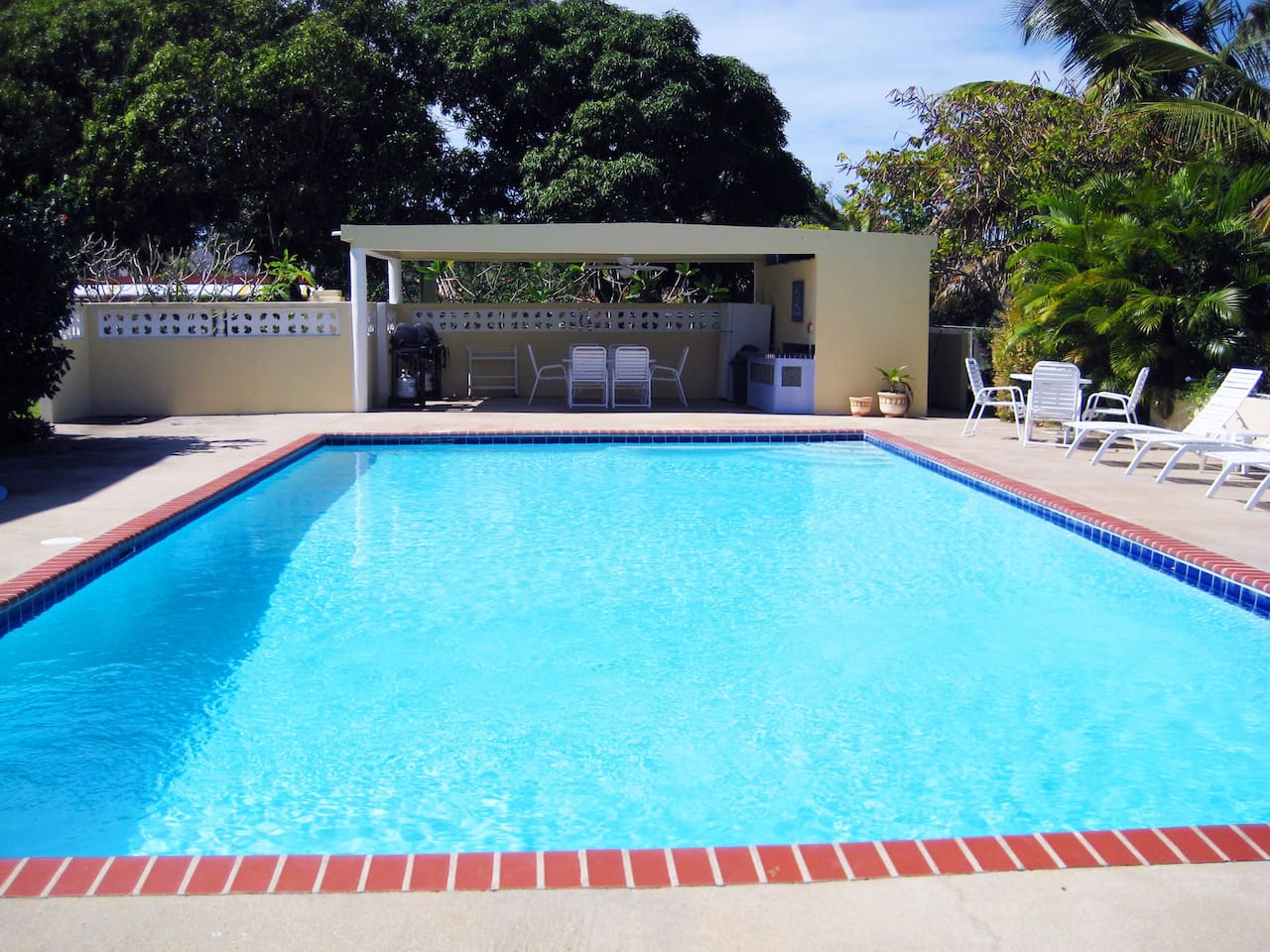 Casa Ladera in Vieques: our beautiful 20x40-foot pool