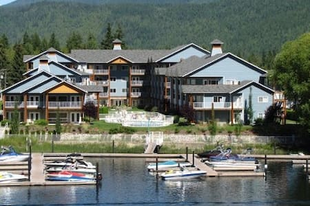 Sicamous Condo with 46' Boat Slip! - Lakás