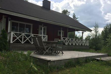 Summer cottage by the lake on Gårdskulla Manor - Sjundeå
