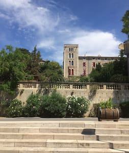 Full-Service Chateau Tower in South of France - Castle