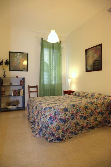 Double Room - double bed (queen/king, European size)  - Air Conditioning