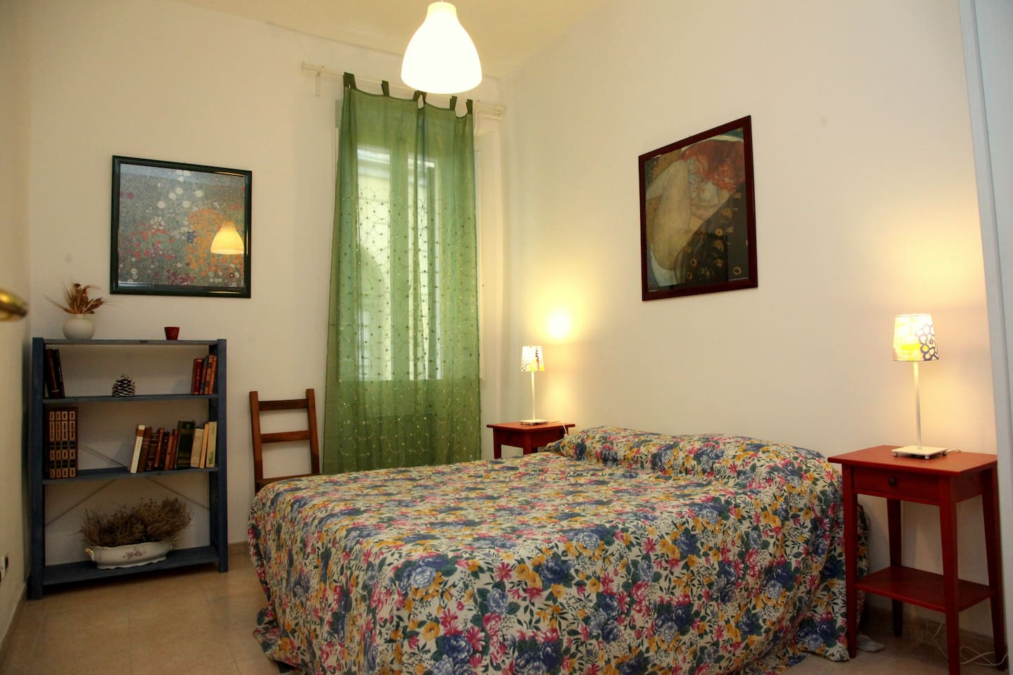 Double Room - double bed (queen/king, European size)  - Air Conditioning, independent heating
