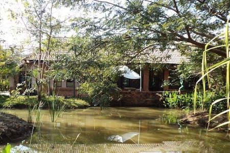 Kinkala Deluxe Garden Apartment 1 - San Kamphaeng