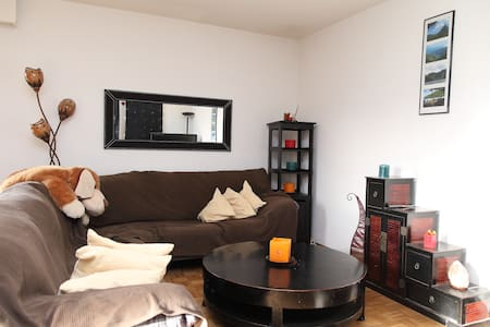 Room super calm, close to GE center - Satigny - Lejlighed