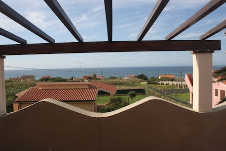 Flat with terrace sea view - Appartement