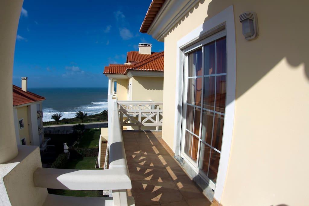 ... Balcony of room 1...