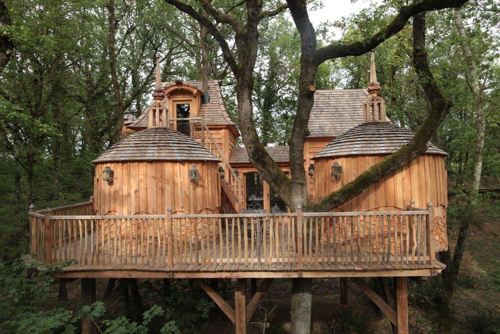 La cabane Hautefort - gîte pour 2 à 6 personnes