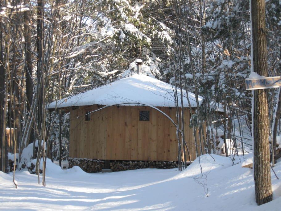 Nearby Wood~Fired Sauna Steam Bath