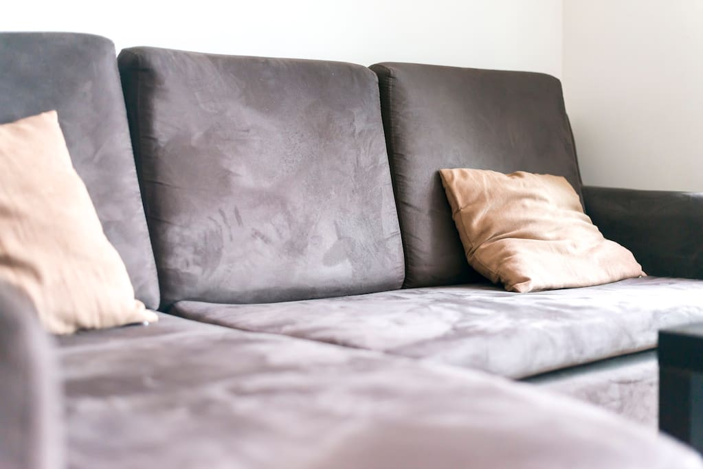 Comfortable couch that can be used as bed as well