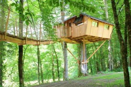 Cabane la Sarrazine - Syam - Baumhaus