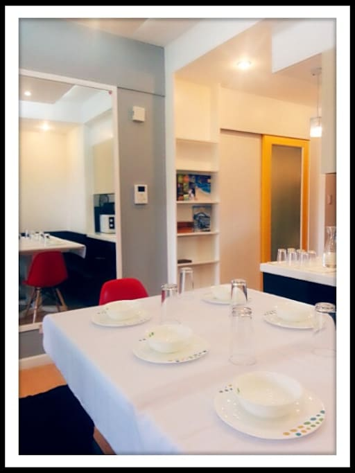 Modern, minimalist design with FREE WIFI and FREE Cable TV! All rooms have split type air conditioners.