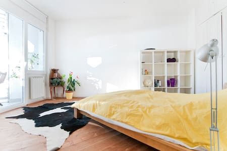 Beach room amazing view in center - Barcelona - Apartment