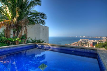 Penthouse with pool in PV with View
