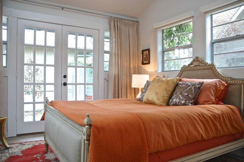 TempurPedic Mattress and Legna Italian wood-fiber sheets...possibly the most comfortable bed ever!